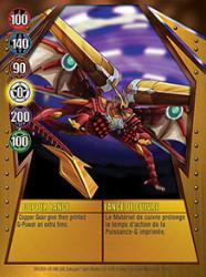 17e Copper Lance Bakugan Gundalian Invaders 1 47e Card Set