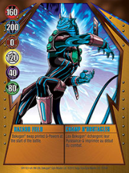 19 48d Hazard Field Bakugan Gundalian Invaders 1 48d Card Set