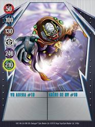 2 48d VR Arena 10 Bakugan Gundalian Invaders 1 48d Card Set