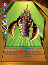 22 48d Moth To Flame Bakugan Gundalian Invaders 1 48d Card Set