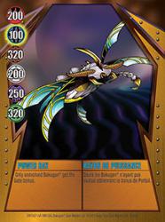 23 48d Power Ray Bakugan Gundalian Invaders 1 48d Card Set