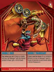 26 48d Double Edge Bakugan Gundalian Invaders 1 48d Card Set