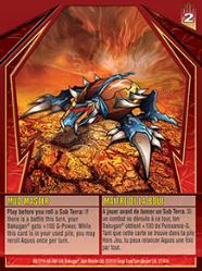 27e Mud Master Bakugan Gundalian Invaders 1 47e Card Set