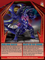 29 48d Dark Wind Master Bakugan Gundalian Invaders 1 48d Card Set