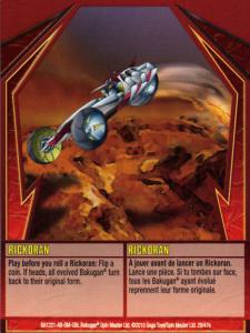 29e Rickoran 225x300 Bakugan Gundalian Invaders 1 47e Card Set