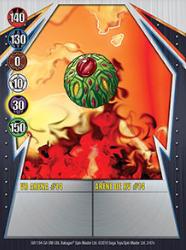 2e VR Arena 14 Bakugan Gundalian Invaders 1 47e Card Set