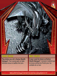 3 4a Dark Sneak Bakugan GI Stealth Series 1 4a Card Set