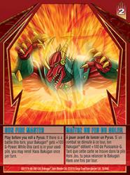 30 48d Sun Fire Master Bakugan Gundalian Invaders 1 48d Card Set