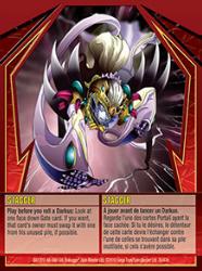 30e Stagger Bakugan Gundalian Invaders 1 47e Card Set