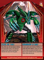 31 48d Clean the Table Bakugan Gundalian Invaders 1 48d Card Set