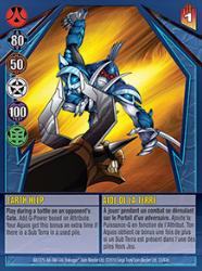 33e Earth Help Bakugan Gundalian Invaders 1 47e Card Set
