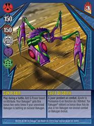 34e Sun Pebble Bakugan Gundalian Invaders 1 47e Card Set