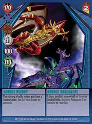 35 48d Double Whoop Bakugan Gundalian Invaders 1 48d Card Set