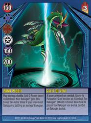 35e Wind Pebble Bakugan Gundalian Invaders 1 47e Card Set