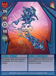 36 48d Double Whomp Bakugan Gundalian Invaders 1 48d Card Set