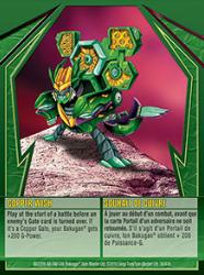 36e Copper Wish Bakugan Gundalian Invaders 1 47e Card Set