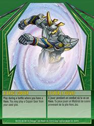 38e Attract Copper Bakugan Gundalian Invaders 1 47e Card Set