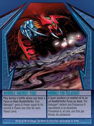 40 48d Double Bright Fire Bakugan Gundalian Invaders 1 48d Card Set