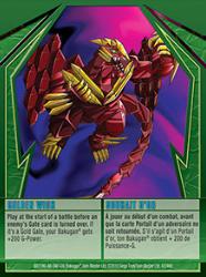 42 48d Golden Wish Bakugan Gundalian Invaders 1 48d Card Set