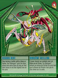 43 48d Second Best Bakugan Gundalian Invaders 1 48d Card Set