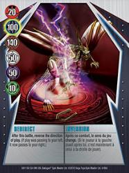 6 48d Redirect Bakugan Gundalian Invaders 1 48d Card Set