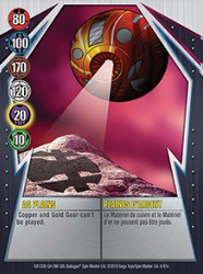 8e AG Plains Bakugan Gundalian Invaders 1 47e Card Set