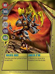 9 48d Golden Shot Bakugan Gundalian Invaders 1 48d Card Set
