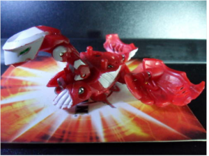 Crimson and Pearl Hawktor 300x224 Crimson and Pearl Bakugan