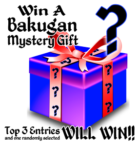holiday coloring win Bakugan's Holiday Coloring Contest Announcement