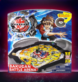 MS Battle Arena Bakugan Battle Arenas
