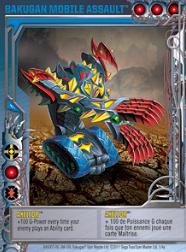 1 4a Axellor Bakugan 1 4a Mobile Assault Card Set