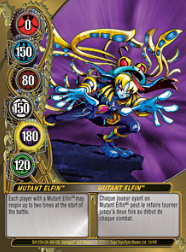10f Mutant Elfin Bakugan Mechtanium Surge 1 48f Card Set