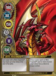11f Meta Dragonoid Bakugan Mechtanium Surge 1 48f Card Set