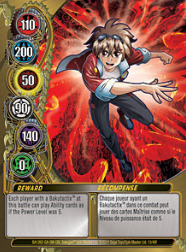 13f Reward Bakugan Mechtanium Surge 1 48f Card Set