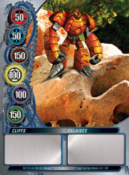 1f Cliffs Bakugan Mechtanium Surge 1 48f Card Set