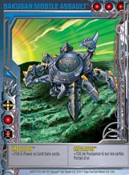 2 4a Impalaton Bakugan 1 4a Mobile Assault Card Set