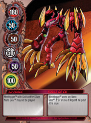 21f CU Forge Bakugan Mechtanium Surge 1 48f Card Set