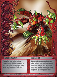 27f Easy Ground Bakugan Mechtanium Surge 1 48f Card Set