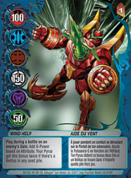 33f Wind Help Bakugan Mechtanium Surge 1 48f Card Set