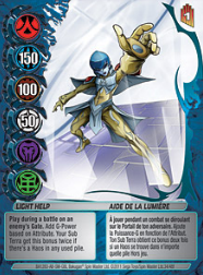 34f Light Help Bakugan Mechtanium Surge 1 48f Card Set