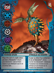 38f Random Spark Bakugan Mechtanium Surge 1 48f Card Set