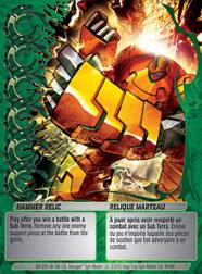 44f Hammer Relic Bakugan Mechtanium Surge 1 48f Card Set