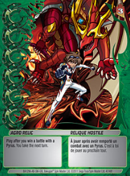 47f Agro Relic Bakugan Mechtanium Surge 1 48f Card Set
