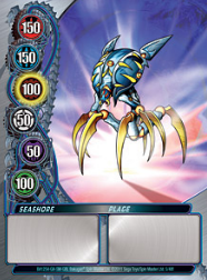 5f Seashore Bakugan Mechtanium Surge 1 48f Card Set