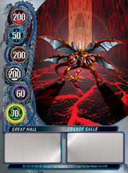6f Great Hall Bakugan Mechtanium Surge 1 48f Card Set