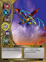 9f Steam Swap Bakugan Mechtanium Surge 1 48f Card Set