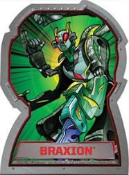 braxion Bakugan Season 4 Mechtogan Activator Cards