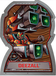 deezall Bakugan Season 4 Mechtogan Activator Cards