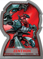 zenthon Bakugan Season 4 Mechtogan Activator Cards