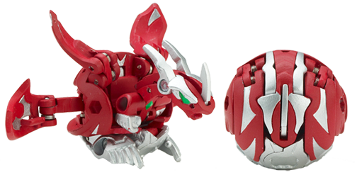 mercury dragonoid UnReleased Bakugan and Traps